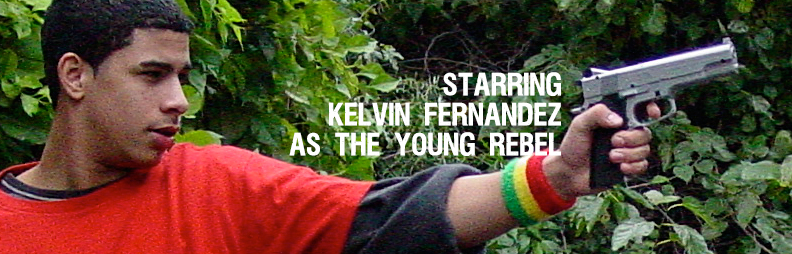 Kelvin Fernandez plays the Young Rebel. This is his first starring role.